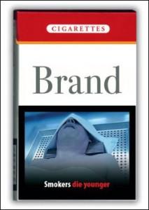 タイのタバコ:比較的控えめな画像だけど死人・・・