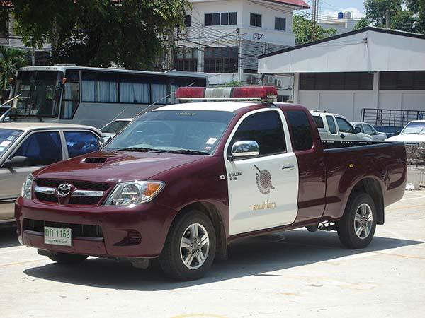 タイのパトカー
