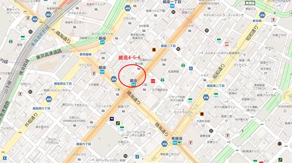 銀座map