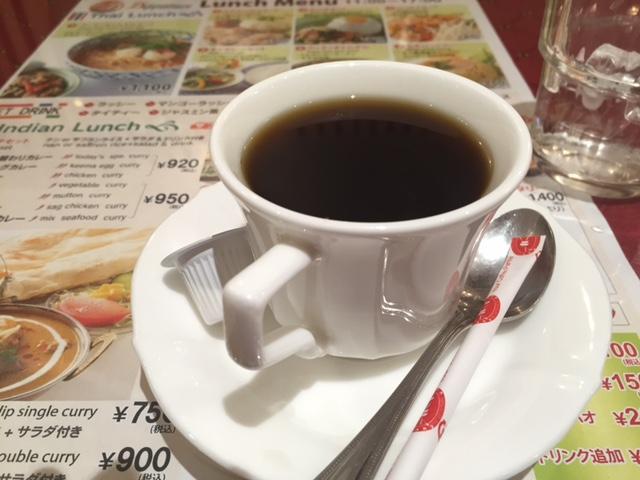 いれたてっぽい美味しいコーヒーでした。
