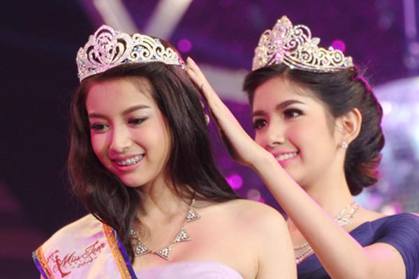 ミス・ティーン・タイランド2014に選ばれた18歳のパットニダー・プムチューセーンさん 画像:thaichi.net