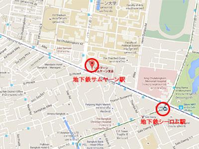 サムヤーンマップ